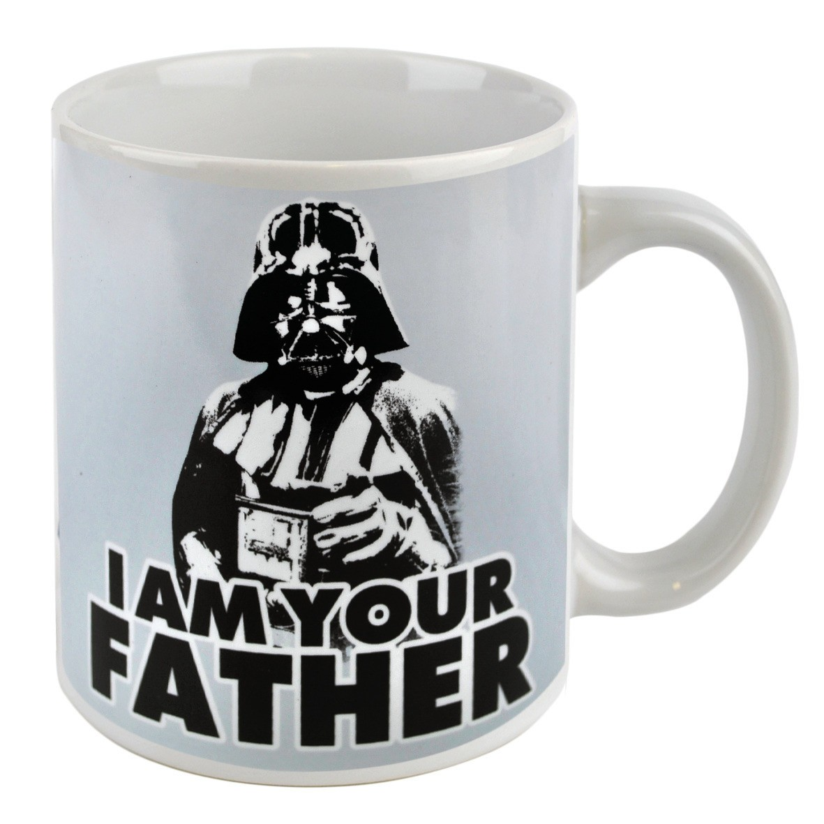new star wars i am your father boxed mug retro coffee cup. Black Bedroom Furniture Sets. Home Design Ideas