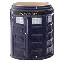 Police Box Round Shaped Mug Thumbnail 3