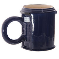 Police Box Round Shaped Mug Thumbnail 4