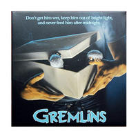 Gremlins Movie Poster 30cm x 30cm Canvas