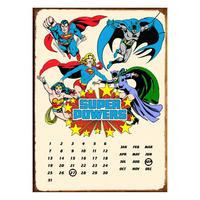 Super Powers Perpetual Calendar