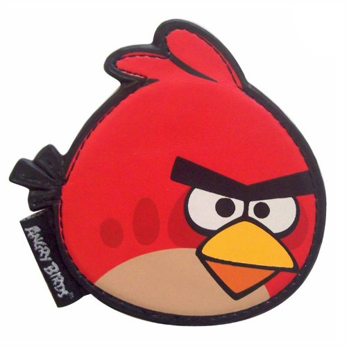 Red Angry Birds Compact Mirror