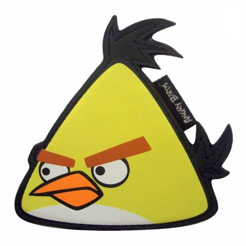 Yellow Angry Birds Compact Mirror
