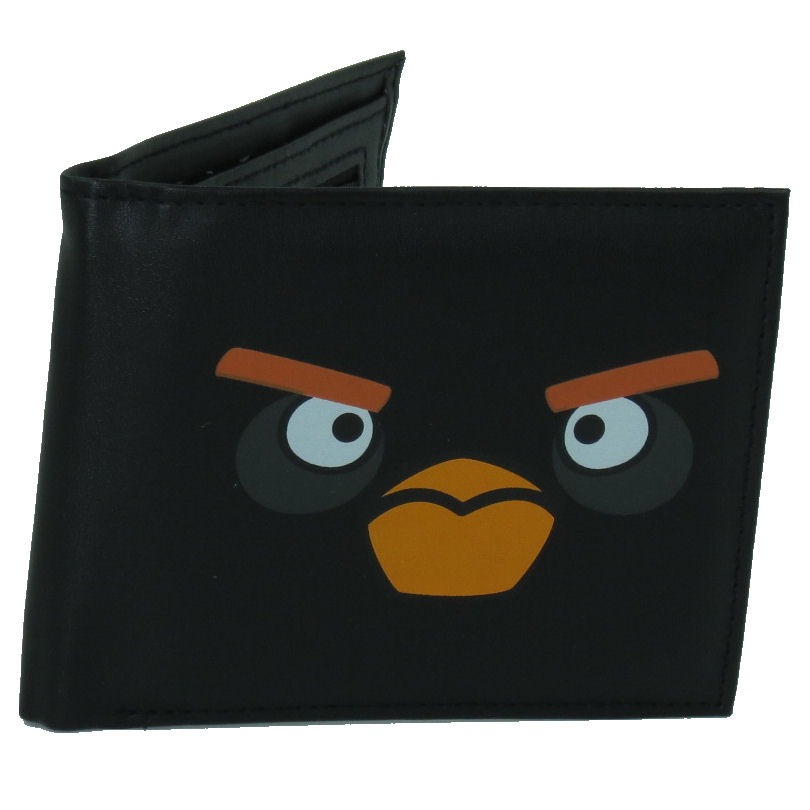 Black Bird Angry Birds Wallet