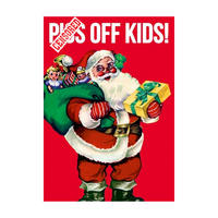 P*ss Off Kids Greeting Card
