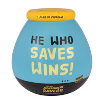 Only Fools & Horses He Who Saves Wins Pot of Dreams Ceramic Money Box