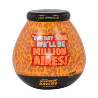 "Only Fools & Horses ""One Day Son, We'll Be Millionaires!"" Pot of Dreams Ceramic Money Box"