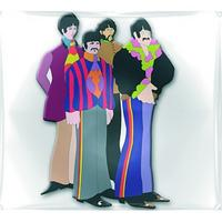 The Beatles Yellow Submarine Band Rubber Fridge Magnet Thumbnail 1