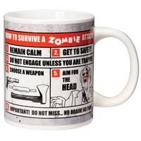 How To Survive A Zombie Attack Mug