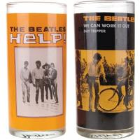 The Beatles HELP! Set Of 2 Glasses
