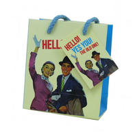 Hello! Yes You! The Old One! Small Gift Bag & Tag