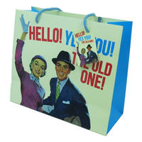 Hello! Yes You! The Old One! Large Gift Bag & Tag