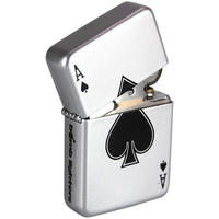 Ace Of Spades Windproof Lighter ...by Bomblighters