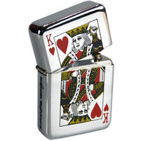 King Of Hearts Windproof Lighter ...by Bomblighters