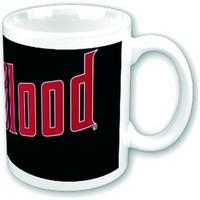 Treu Blood Drink Logo Mug
