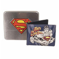 Superman Wallet In A Tin