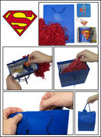 Superman Logo Mug, Coaster, & Metal Keyring Gift Bag Thumbnail 2