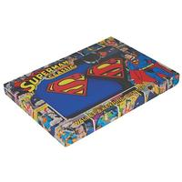 Superman Logo Wallet & Keyring Boxed Set