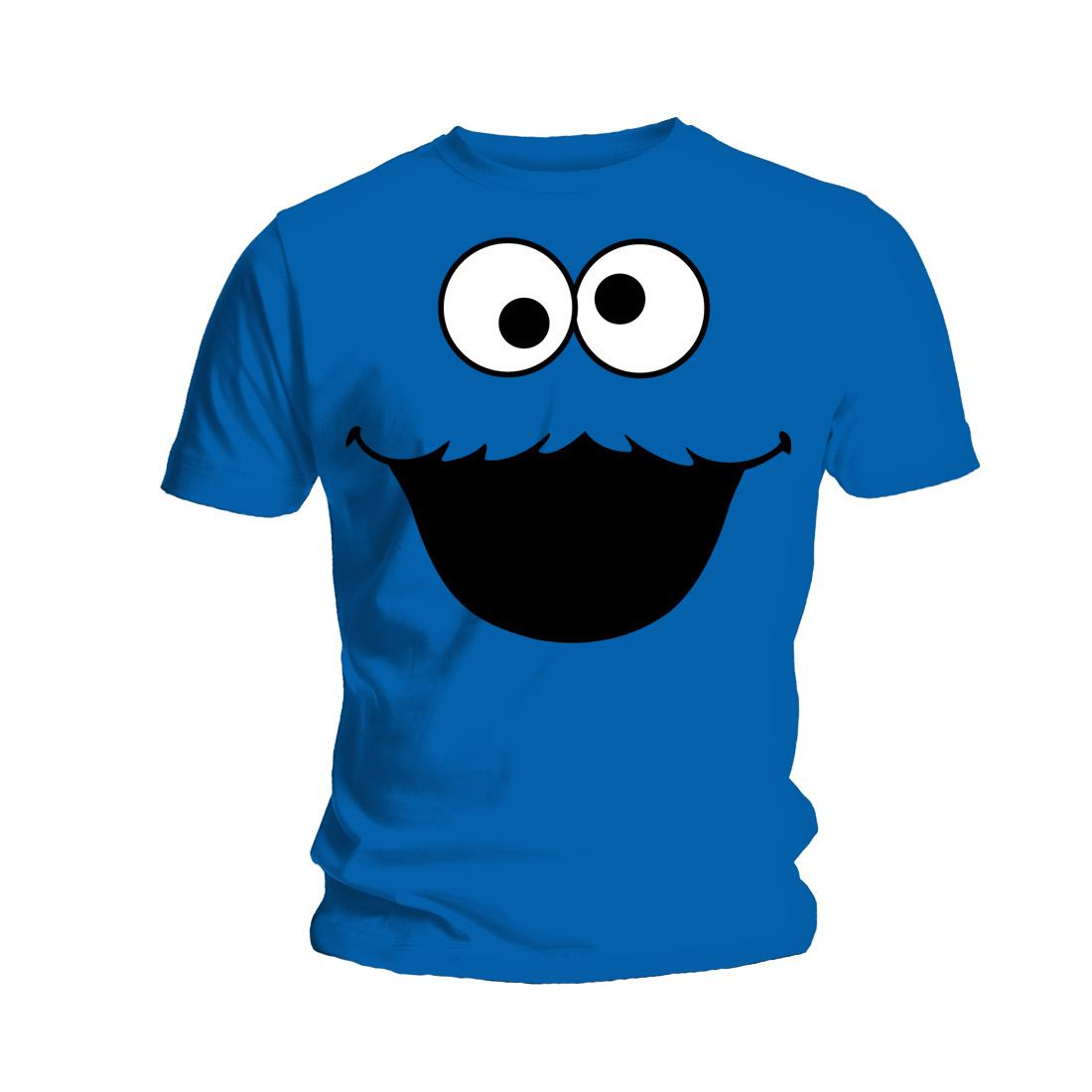 cookie monster adult shirt