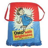 OMO (Adds Brightness) Cotton Pinny Apron