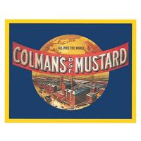 "Colman's Mustard ""All Over The World"" Postcard"