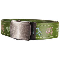Scooters Adjustable Faux Leather Belt