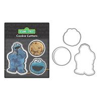 Cookie Monster Cookie Cutters