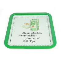 "PG Tips ""Always Refreshes"" Square Tin Tray"