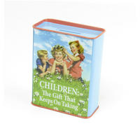 Children: The Gift That Keeps On Taking Money Box