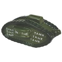 Bank In The Tank Ceramic Money Box