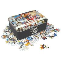 World War 1 Montage 500 Piece Jigsaw In A Tin