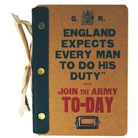 Join The Army Today Hardboard Cover Notebook