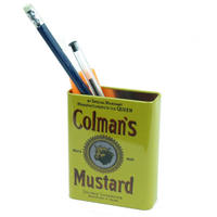 Colman's Mustard Magnetic Pen Pot