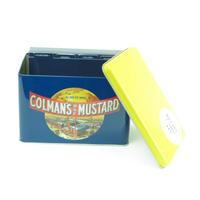 Colman's Mustard Recipe Card Tin