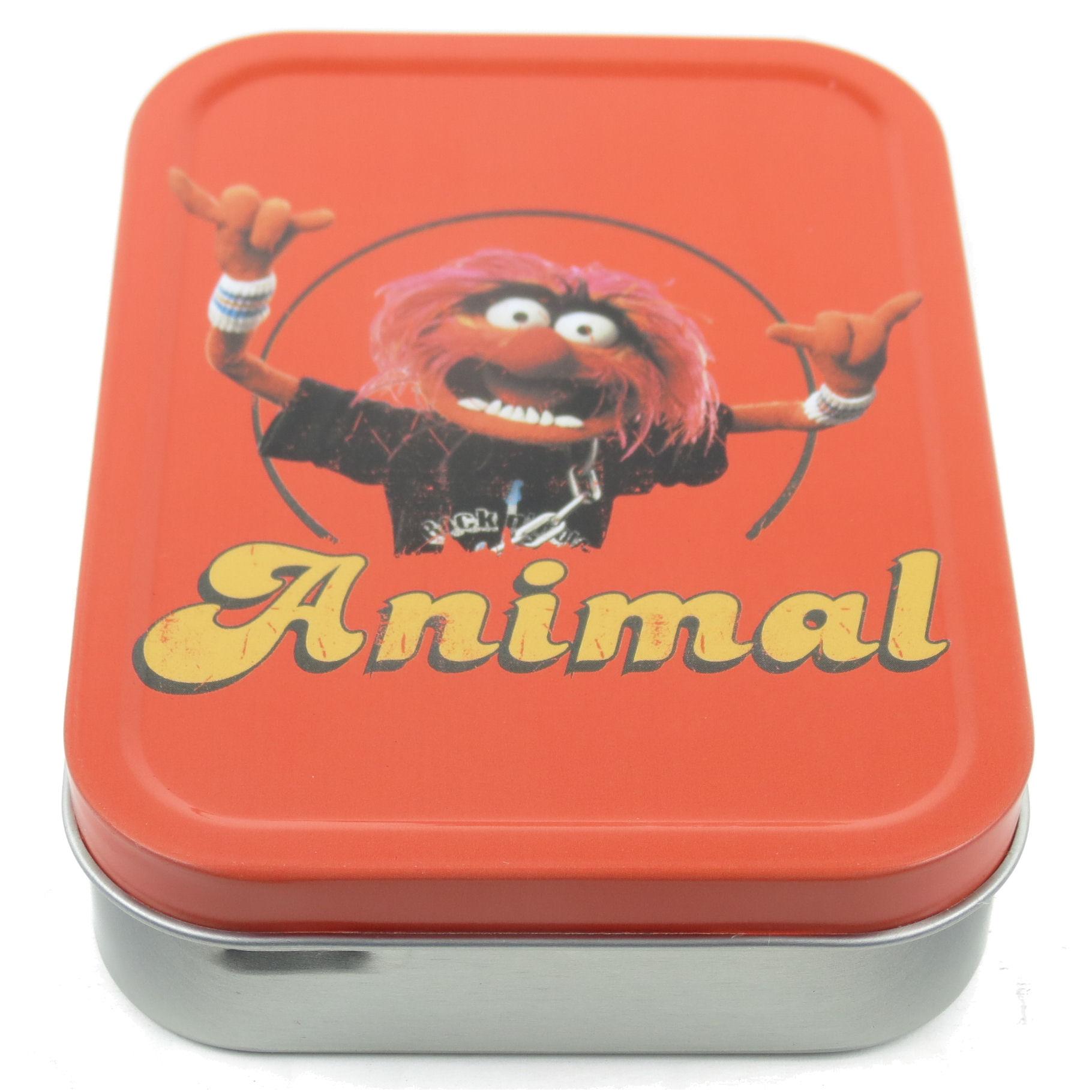 Scatola di latta da collezione 60ml muppets animal idea for Kermit alla finestra