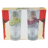 Kermit & Miss Piggy Set Of 2 Glasses Thumbnail 4