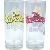 Kermit & Miss Piggy Set Of 2 Glasses Thumbnail 2