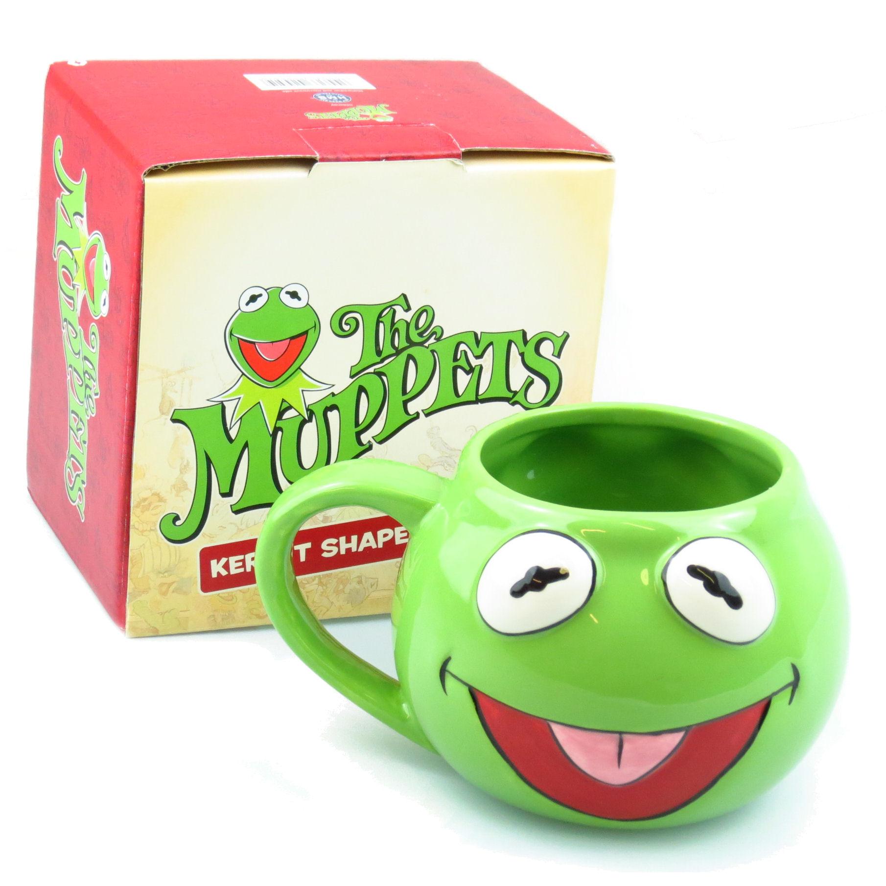 Kermit the frog shaped 3d mug retro ceramic coffee tea cup for Kermit alla finestra
