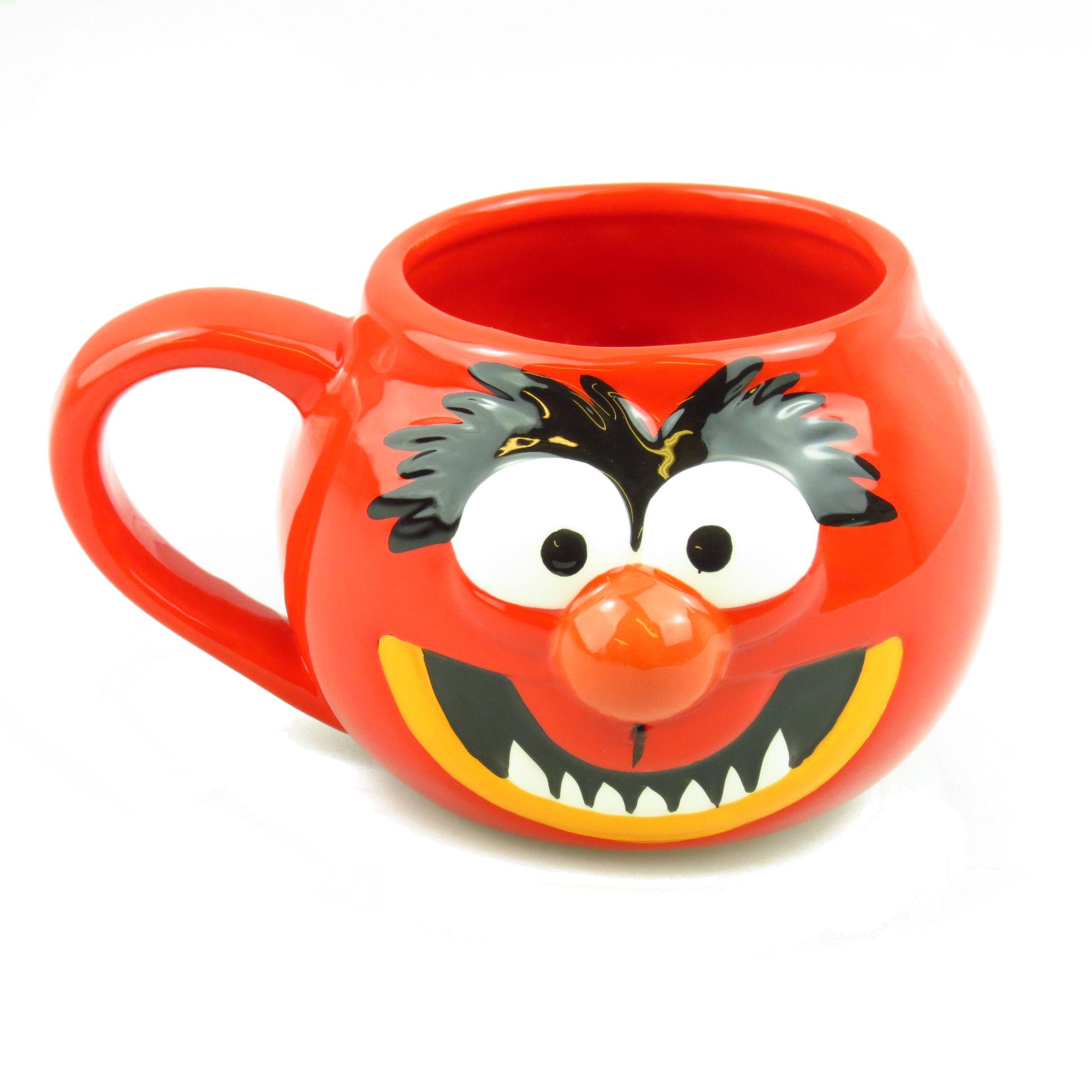 The muppets animal 3d shaped mug standard kitschagogo for Animal shaped mugs