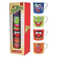 The Muppets Set Of 4 Stacking Mugs