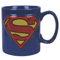 Superman Embossed Logo Mug Thumbnail 1