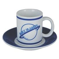 Superman Collection Set of 4 Espresso Cups & Saucers Thumbnail 3