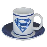 Superman Collection Set of 4 Espresso Cups & Saucers Thumbnail 5