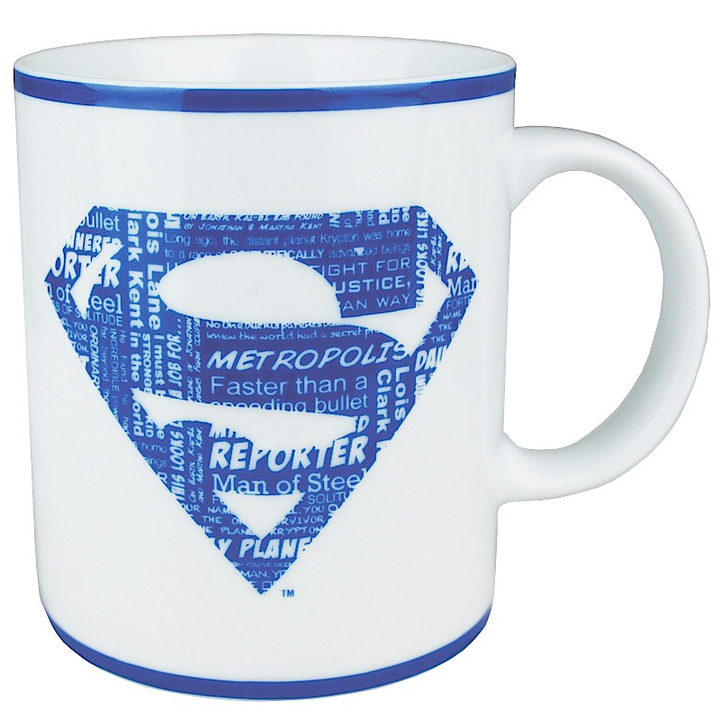 Superman Collection Logo Mug