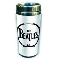 The Beatles Drum Logo Ceramic Travel Mug