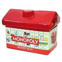 Monopoly Ceramic Hotel Money Box