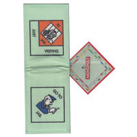 """Monopoly """"Go To Jail/Just Visiting"""" Travel/Oyster Card Holder"""