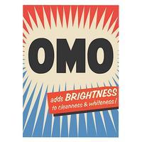 "OMO ""Adds Brightness"" Fridge Magnet"