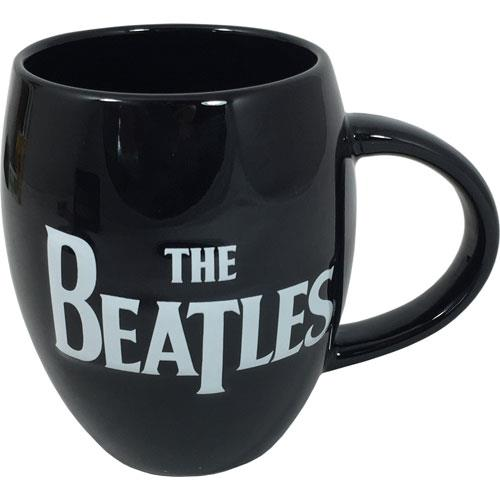 The Beatles Logo Embossed Oval Mug