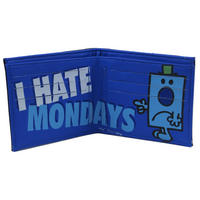 "Mr Grumpy ""I Hate Mondays' Faux Leather Wallet."